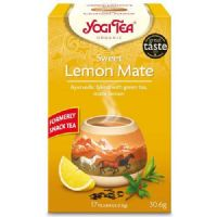 Yogi Tea Organic Sweet Lemon Mate 17 Bags